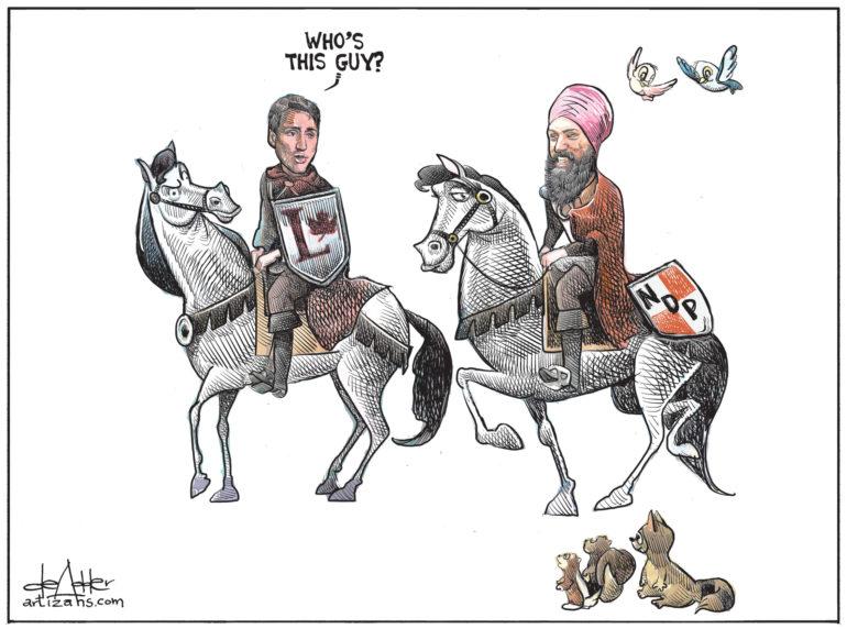 A Knight-Mare Come True For Trudeau