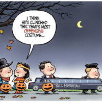 Most offensive Halloween costume is Bill Morneau
