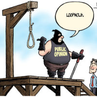 Public Opinion of Justin Trudeau's ethics loophole is a noose