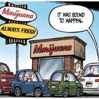 Commercialization of legalized marijuana begins