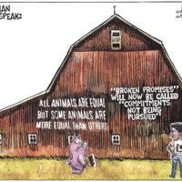 Justin Trudeau uses Orwellian Doublespeak to deflect broken promises