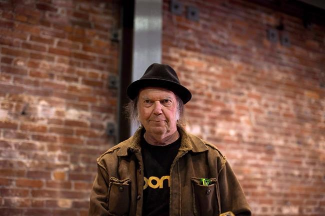 it s official neil young returns home for coronation hall show in omemee ont national newswatch. Black Bedroom Furniture Sets. Home Design Ideas