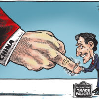 China gives the finger to Justin Trudeau and progressive trade policies