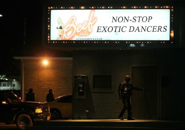 Strip clubs allowing intimate touching videos