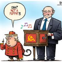Monkey Donald Trump says he's not Vladimir Putin's puppet