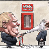 Doug Ford uses 'Notwithstanding Clause' extinguisher on Toronto Council