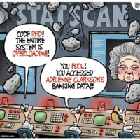 Statistics Canada overloads by accessing Adrienne Clarkson's Banking Data