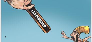 Tiny Jagmeet Singh tries to take large NDP leadership baton from Tom Mulcair