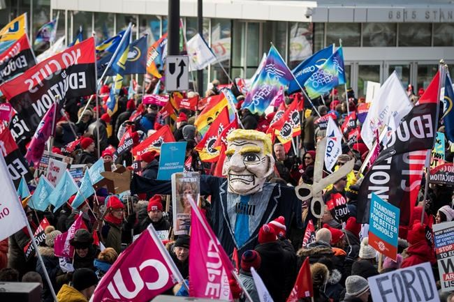 Ontario Tories hold annual policy convention amid union protests |  National Newswatch